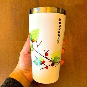 Starbucks Travel Mug Mistletoes